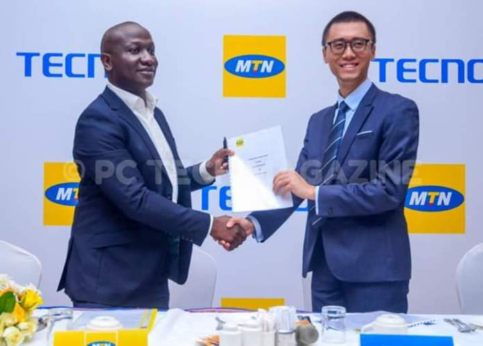 TECNO once again joins hands with MTN; in new Camon 15 unveiling. 1 MUGIBSON WRITES