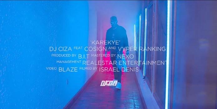 DJ Ciza, Cosign and Vyper Ranking out 'Karekye' visuals. Watch Here: -  3 MUGIBSON WRITES