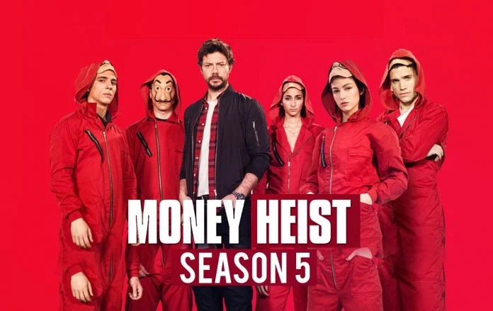 Netflix announces fifth and final lap for blockbuster series 'Money Heist' 1 MUGIBSON