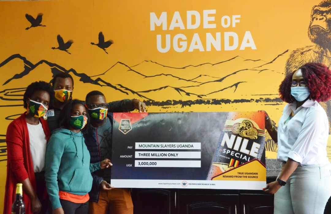 Nile Special rewards Mountain Slayers Hikers UGX 3Million for Viral Photos at Mt Rwenzori 1 MUGIBSON WRITES