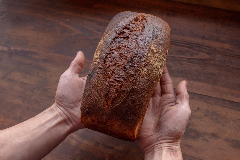 わきたつ 国産 古代小麦 オーガニック 全粒粉 石臼 石窯 天然酵母 国産小麦 通販 パン