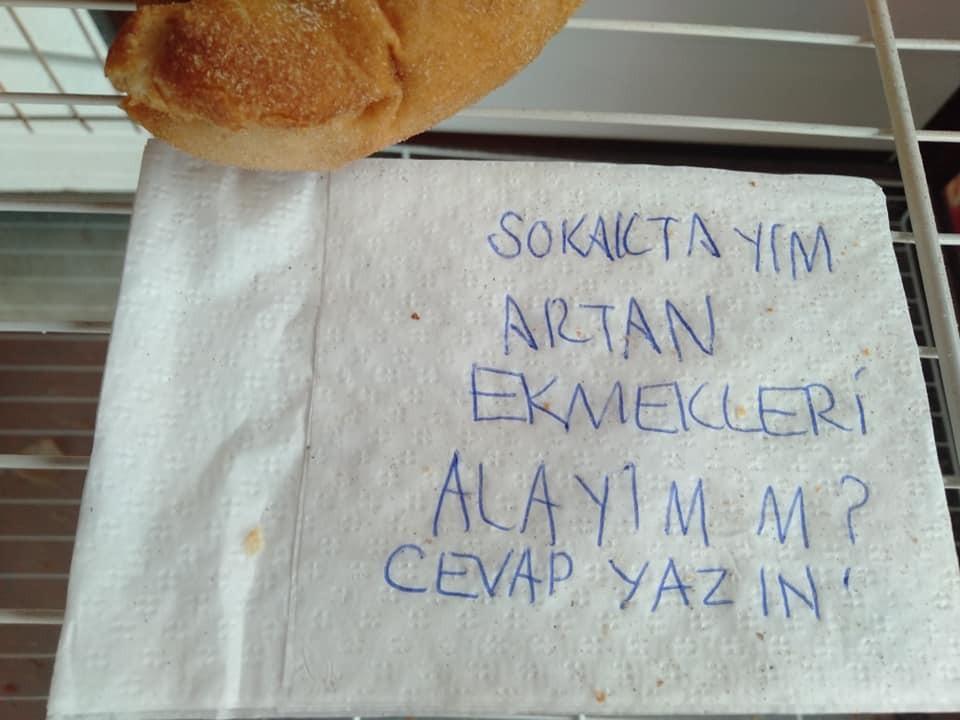 Ekmek dolabındaki not, Bodrum'un öteki yüzünü gösterdi