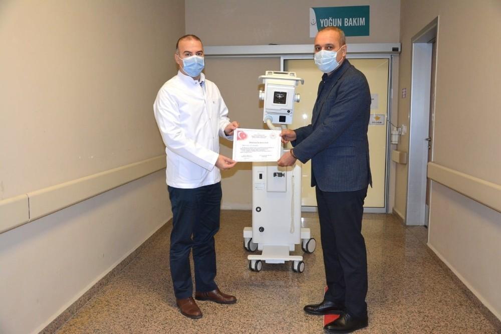 Ortaca Devlet Hastanesine röntgen cihazı bağışlandı