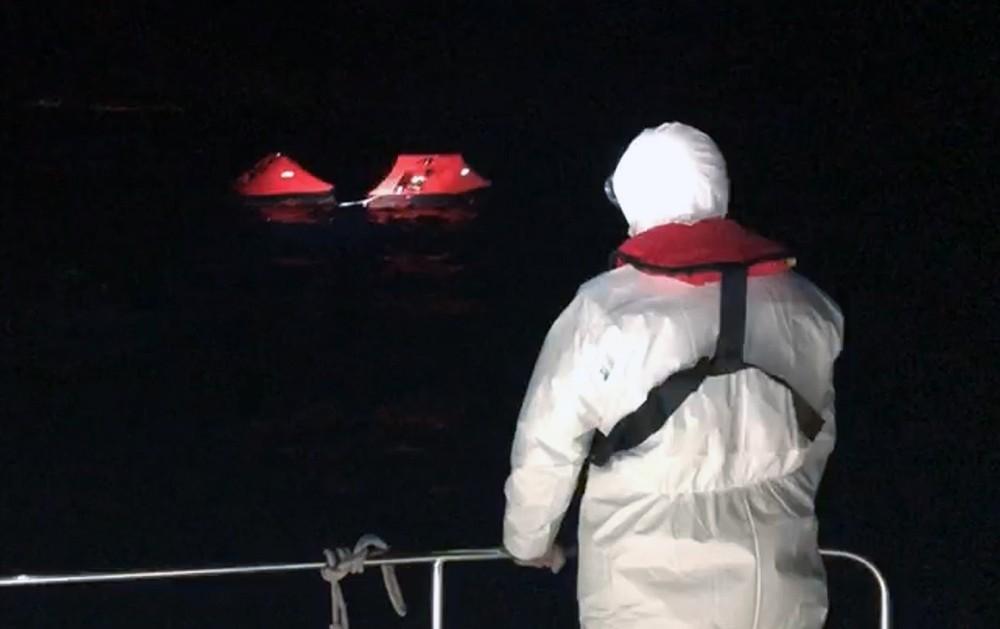 Yunan Sahil Güvenliği can salıyla Türk karasularına aitti