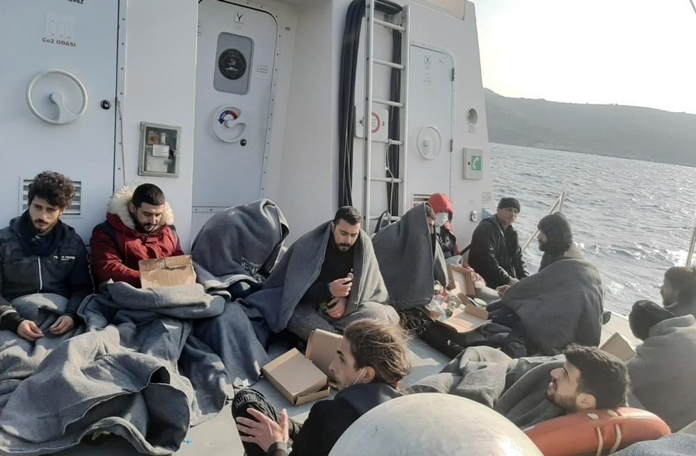 Yunanistan 12 göçmeni ölüme itti
