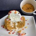 high protein pumpkin mug cake