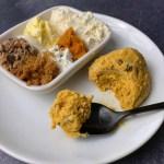 high protein heath bar cookie dough for one recipe
