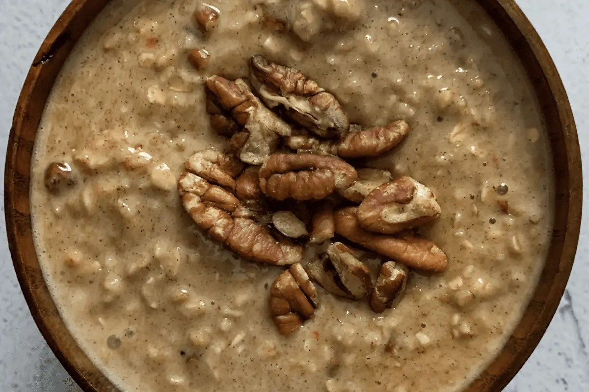 Carrot Cake Protein Oats