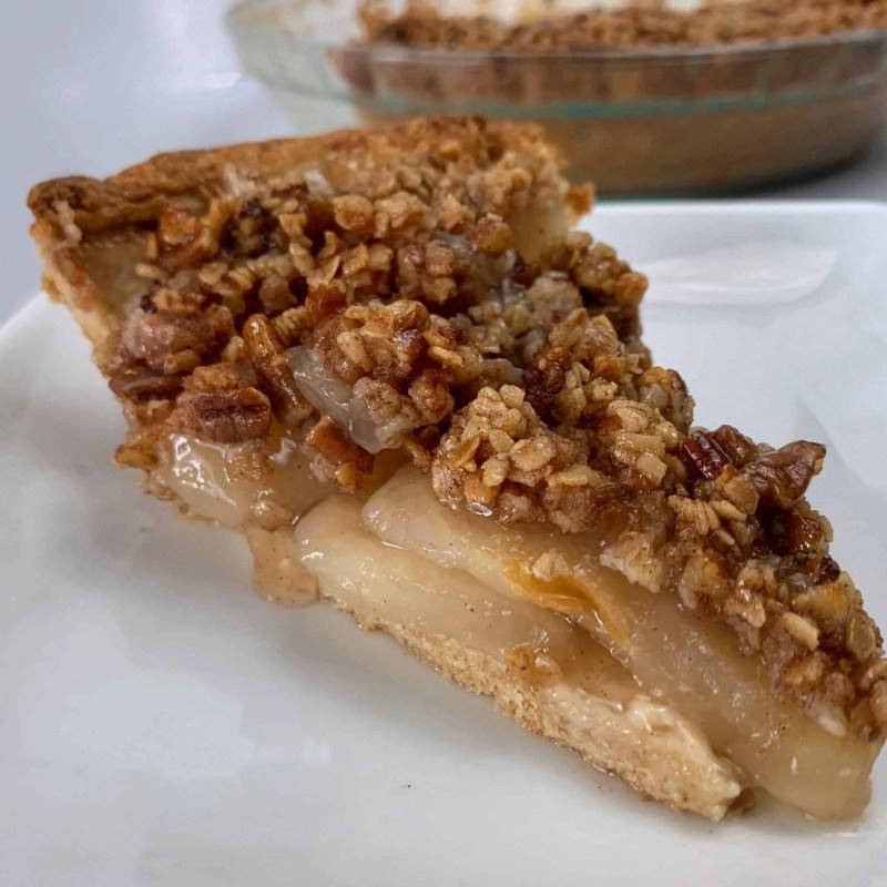 healthier apple crisp pie recipe