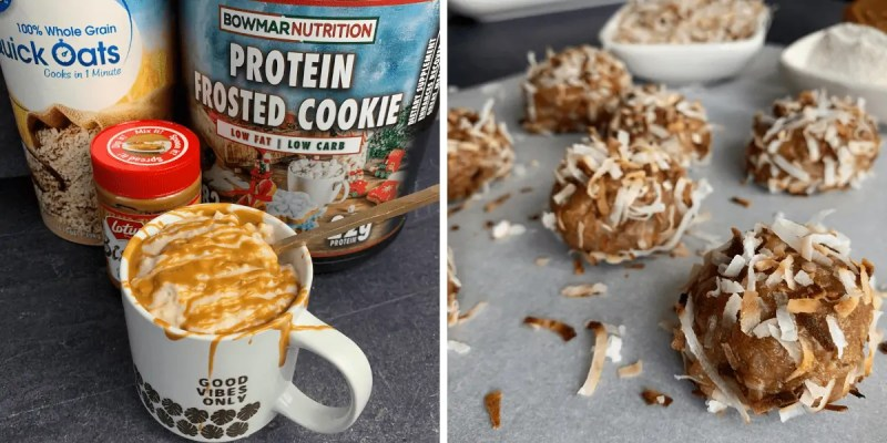 recipes to make with bowmar nutrition protein frosted cookie