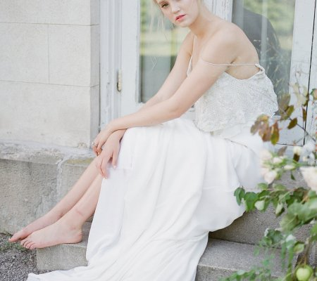 Ethereal bridal session at Dundurn Castle Ontario | Toronto fine art wedding photographer - Muguet Photography