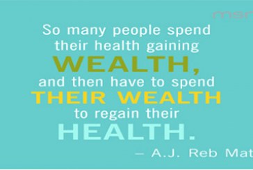 Healthy living for success