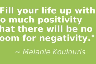 Recipe for overcoming negative thought