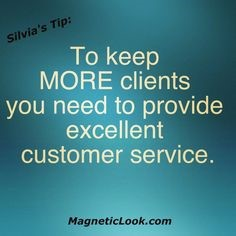 to keep more clients