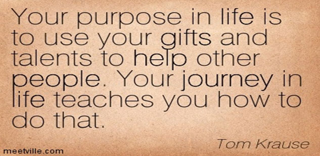 Use your gift for your success and that of mankind
