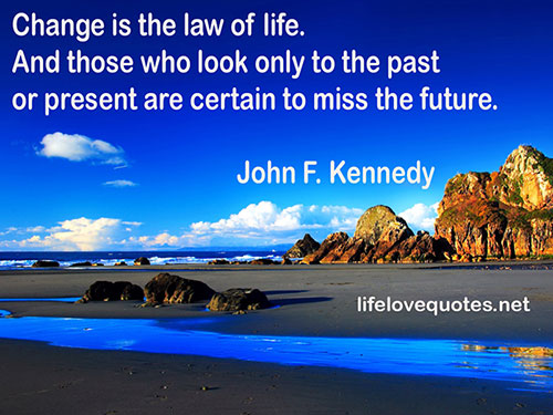 Inspiring quotes about change