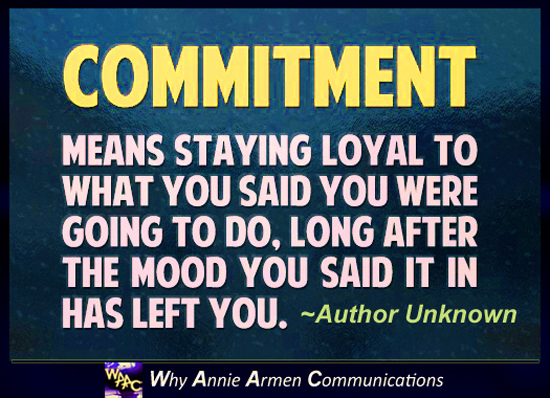 Inspiring Quotes about Commitment