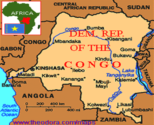 Africa Natural Resources: Democratic Republic of Congo