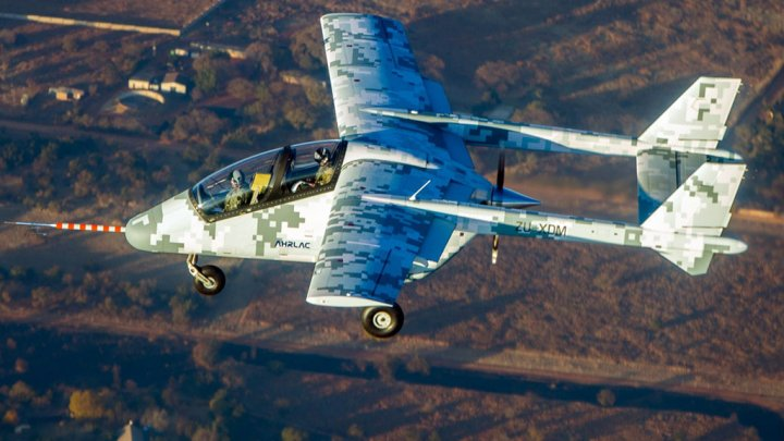 First African military aircraft takes to the skies making aviation history