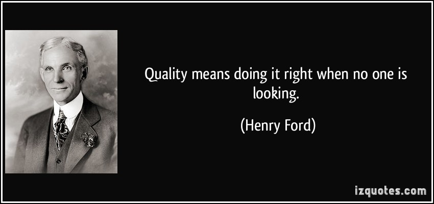 Inspiring Quotes on Quality