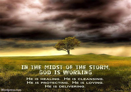 In everything the Lord is with me