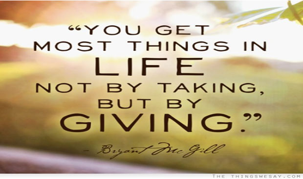 The Power in Giving