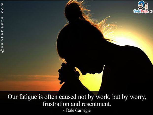 Overcome Fatigue to live a healthy life