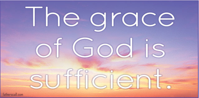 Father your Grace is more than enough