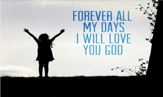 Will always love you Lord