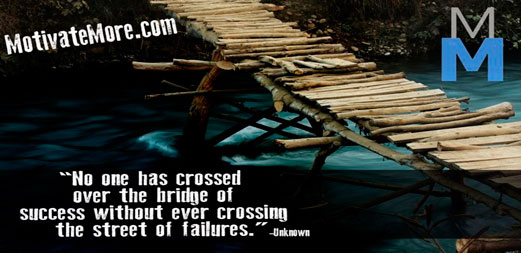 Crossing your bridge of success