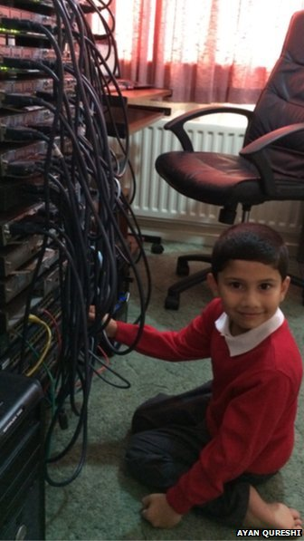 5 year old Microsoft Certified Proffesional in the world