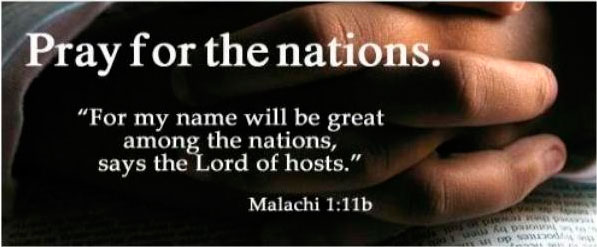 Let your name be great among nations