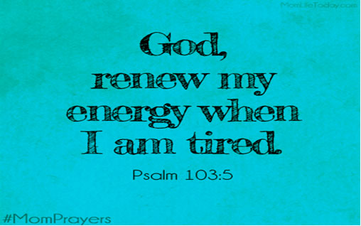 Thank you Lord my source of energy