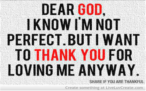 Thank you Lord for my wake call