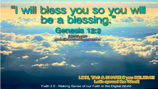 Lord make me a blessing