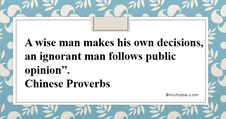 Inspiring quote on wisdom