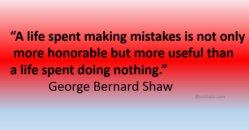 Learning from own mistakes