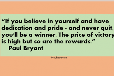 Belief and victory