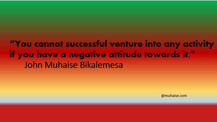Negative attitude and success