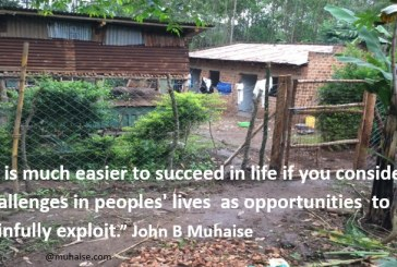 Consider  challenges in peoples' lives  as opportunities