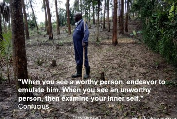Emulate those who are worthy to be emulated