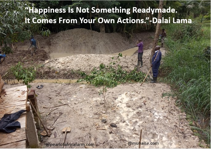Your actions determine your happiness