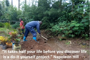Life is a do-it yourself project