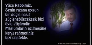--Muhammed Bozdağ Dua