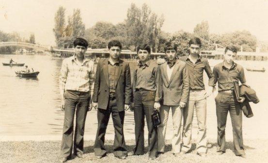 Muhammed Bozdağ Tübitak matematik yarışması için Ankara'da (sağda)