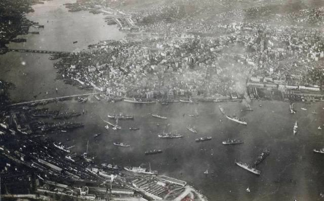 İstanbul işgal altında...