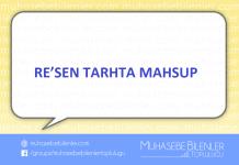 Resen Tarhta Mahsup