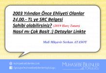 Bu Yazımızın Konusu : 2003 YILINDAN ÖNCE EHLİYETİ OLAN SINAVSIZ SRC ALABİLİR