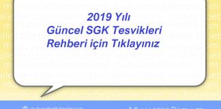 2019 Yılı Güncel SGK Tesvik Rehberi