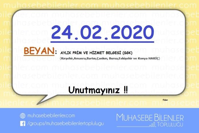 Subat 2020 hatirlatma 3